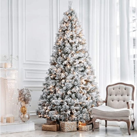treat yourself to a fancy new pre-lit Christmas tree