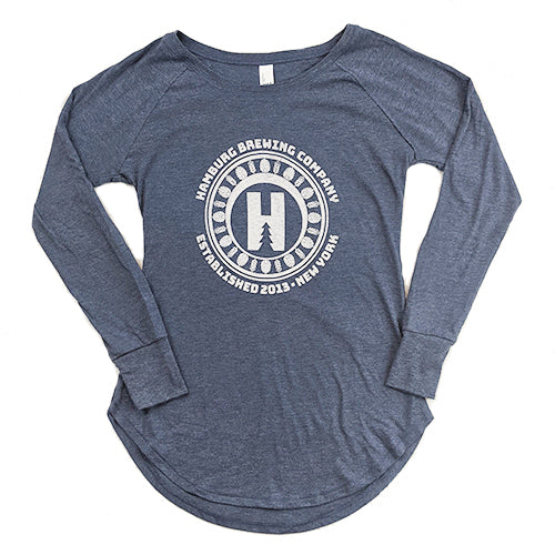 Women's Blue Long Sleeve