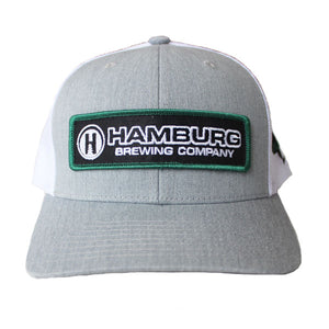 Gray Snapback Hat with HBC logo