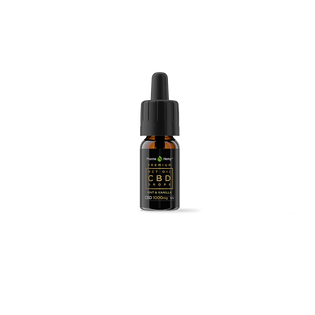 Pharmahemp™ CBD Oil Drops in MCT Oil 10% 10ml Mint & Vanilla Flavour.