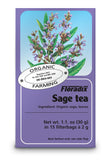 Salus House Organic Sage Herbal Tea Bags (15 Bags)