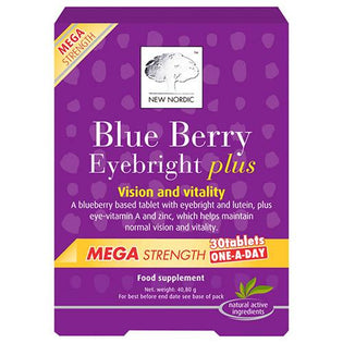 New Nordic Blue Berry Mega Strength