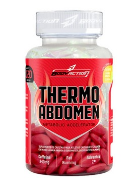 THERMO ABDOMEN 120 caps - BODY ACTION