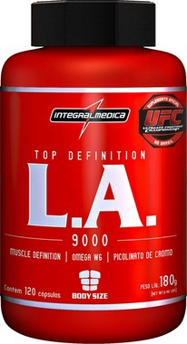 L.A. TOP DEFINITION COM CROMO (120CAPS) INTEGRALMEDICA