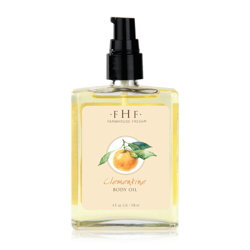 FHF Clementine Body Oil