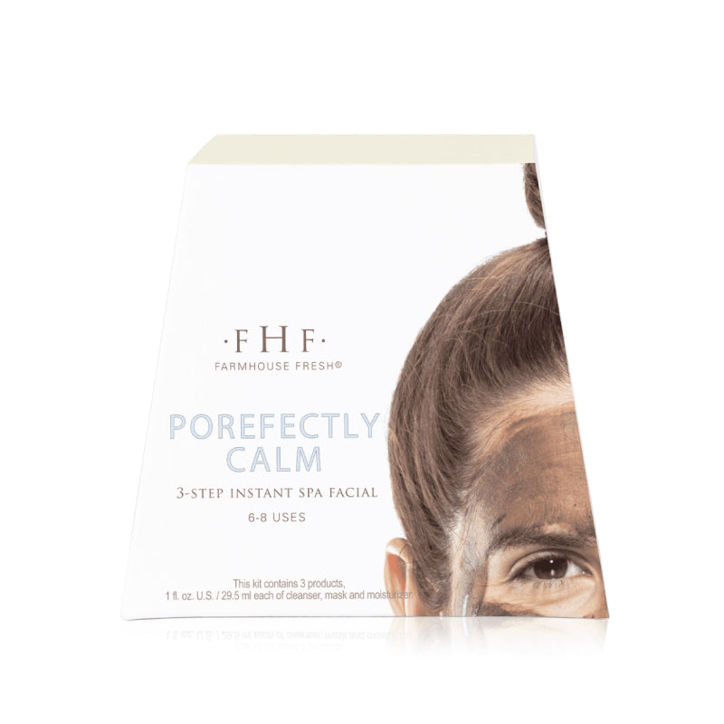 FHF Porefectly Calm 3-Step Instant Home Facial