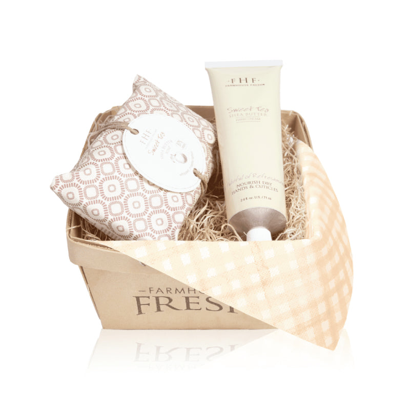 FHF Sweet Tea Harvest Gift Basket