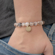 Load image into Gallery viewer, Bracelet - Serenity Stones Earth Tone | Various Pendants