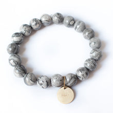 Load image into Gallery viewer, Bracelet - Serenity Stones Gray | Various Pendants