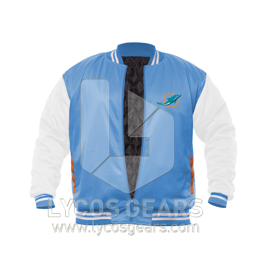 Miami Dolphins Team Bomber Jacket