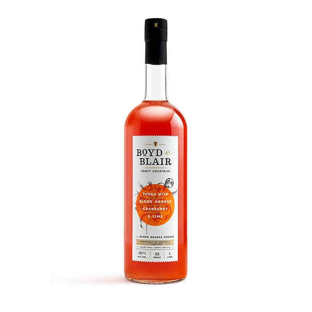 The Blood Orange Cosmo RTD Craft Cocktail 1L
