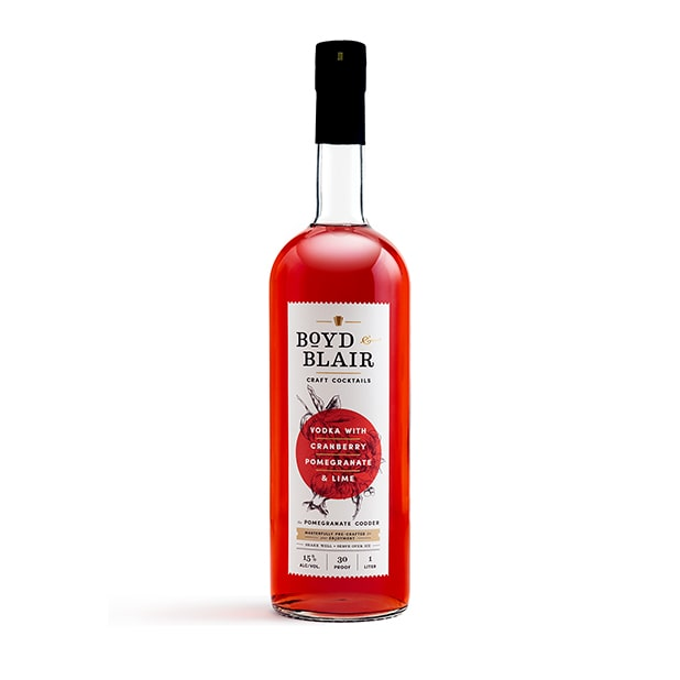 The Pomegranate Codder RTD Craft Cocktail 1L