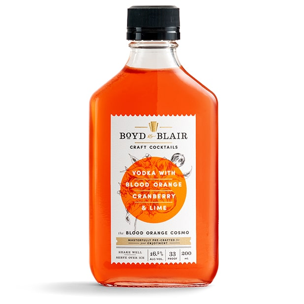 The Blood Orange Cosmo RTD Craft Cocktail 200ml