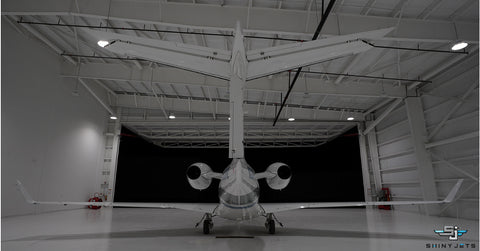 Polished and Ceramic Coated Embraer Phenom 300