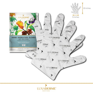 Previous - LuxaDerme Deep Moisturizing Hand Hydration Gloves - LuxaDerme