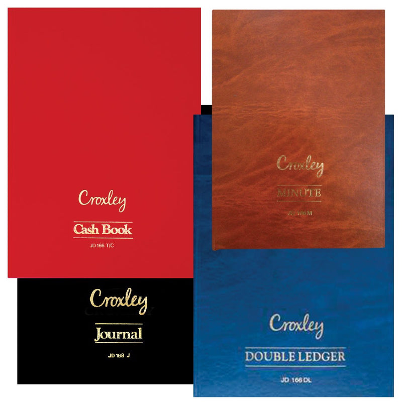 Croxley JD166 A4 Account Book Journal
