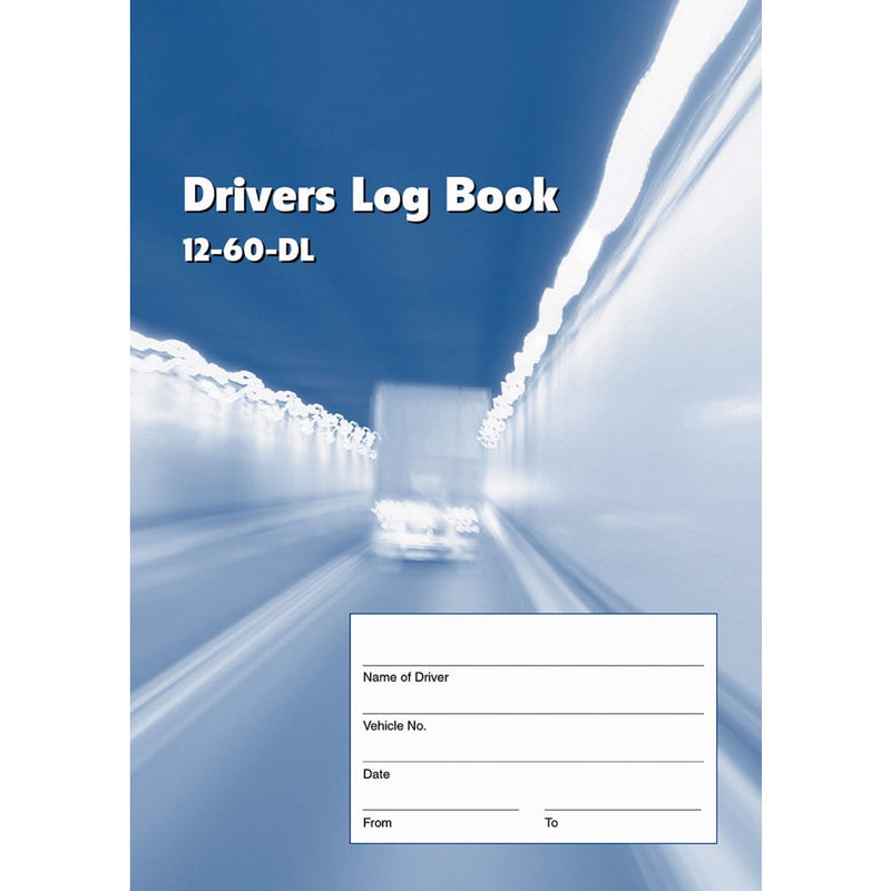 Rexpro Drivers Log Book 40pg A5