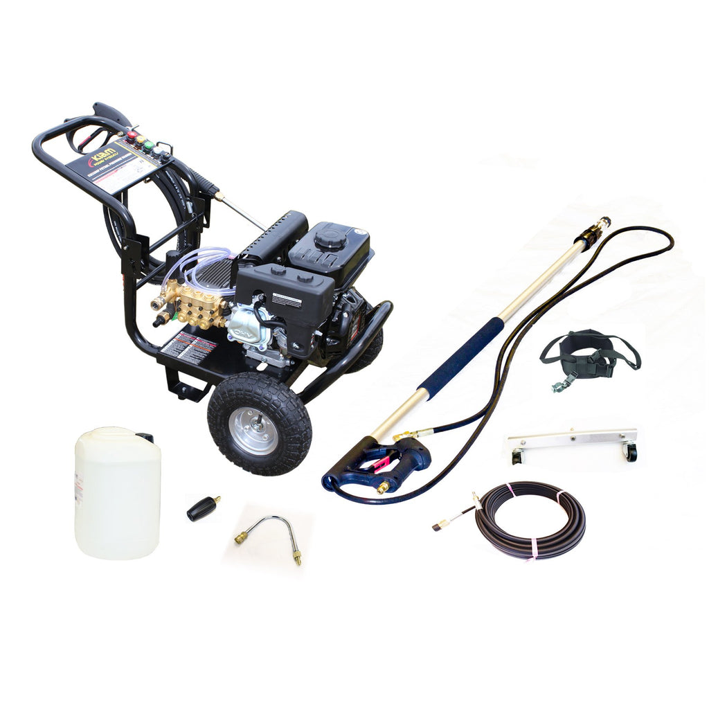 Patio, Drains & Gutter Cleaning Pressure Washer Kit 3200P - Equipment Package