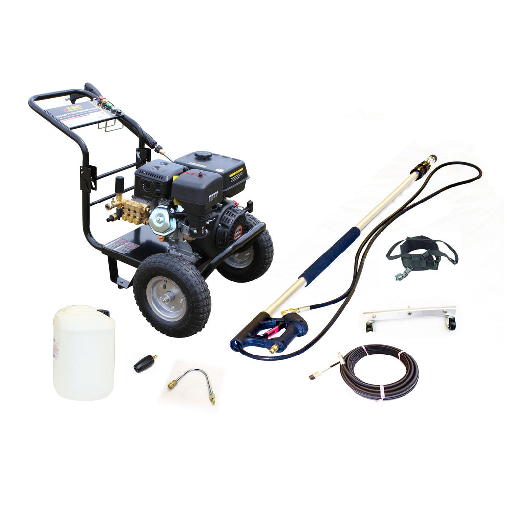 Patio, Drains & Gutter Cleaning Pressure Washer Kit 3400P - Equipment Package
