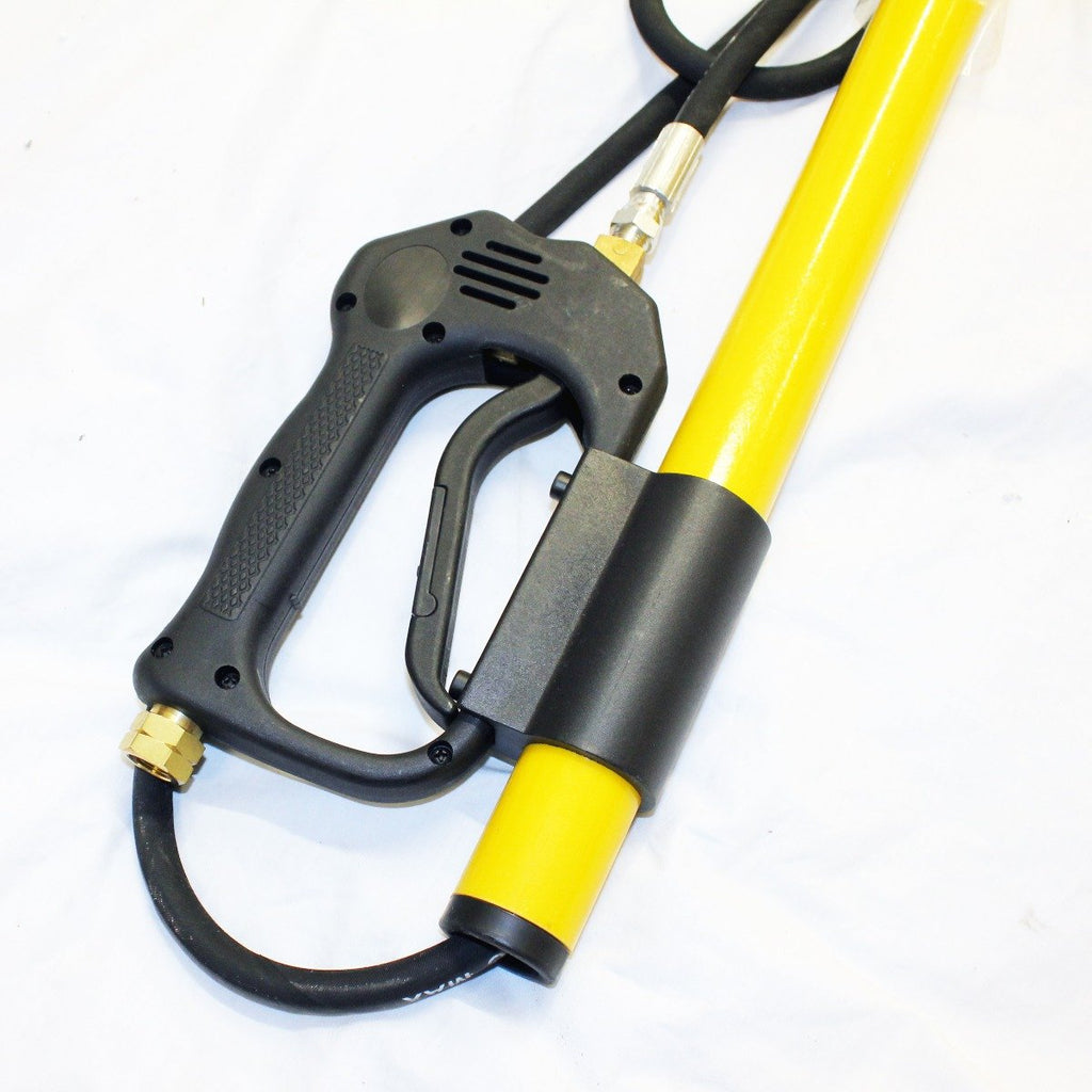 "5.2m (18') Telescopic Extendable Lance for Pressure Washer (1/4"" BSP Nozzle)"