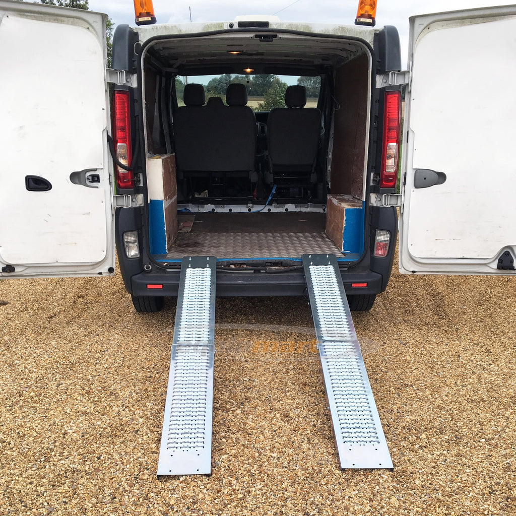 1.8m Folding Steel Loading Ramp Heavy Duty 200KG