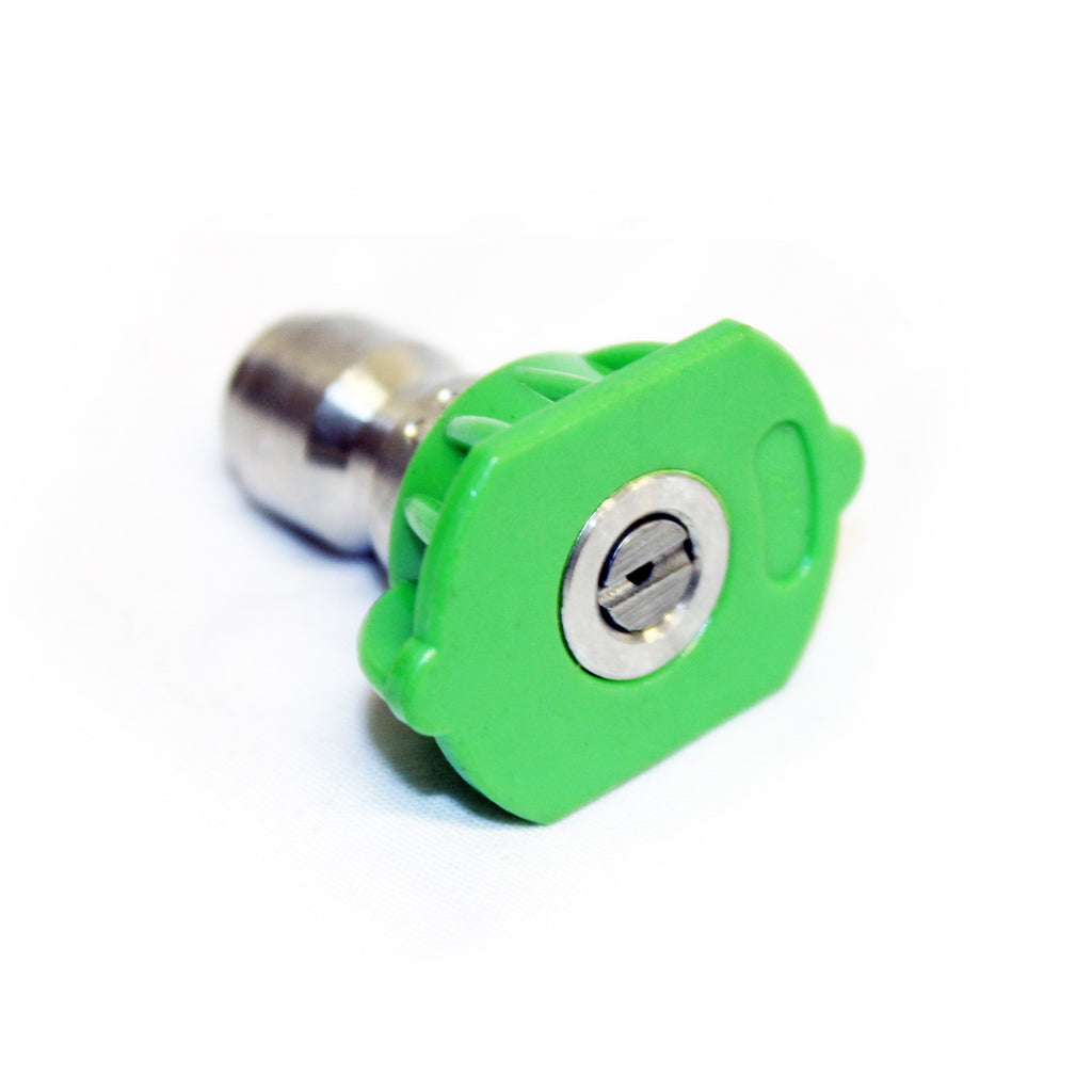 Quick Release 25 Degree Fan Jet Nozzle (Green)