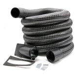 Cyclonic Side Entry Inlet & 5m Wire Reinforced Gutter Vacuum Hose (51mm)