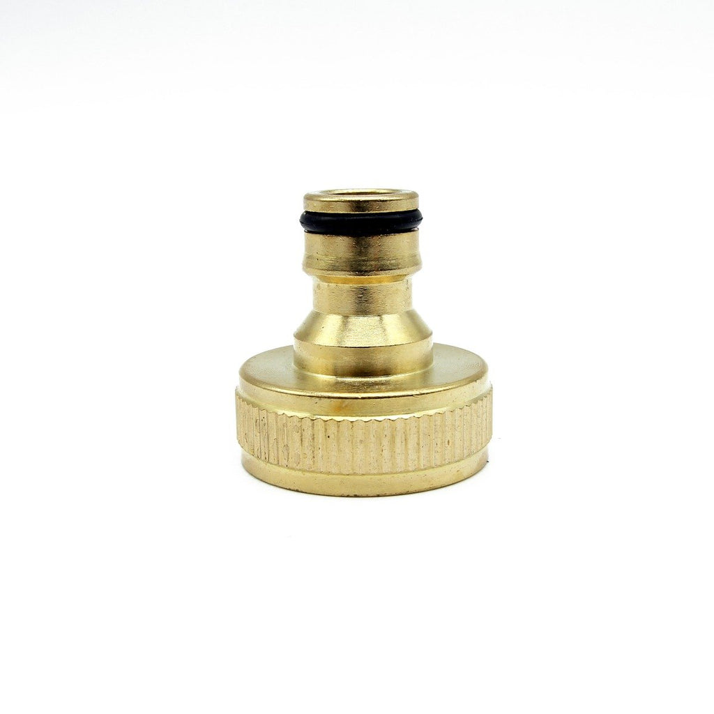 "Hozelock Male Quick Release to 1"" Female Screw Coupling - Brass"