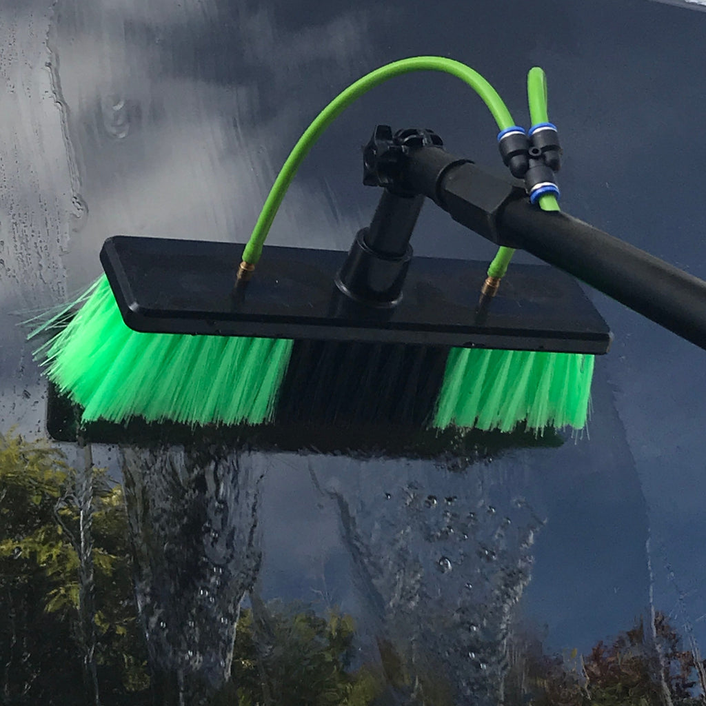 Aquaspray 25 waterfed telescopic pole brush head