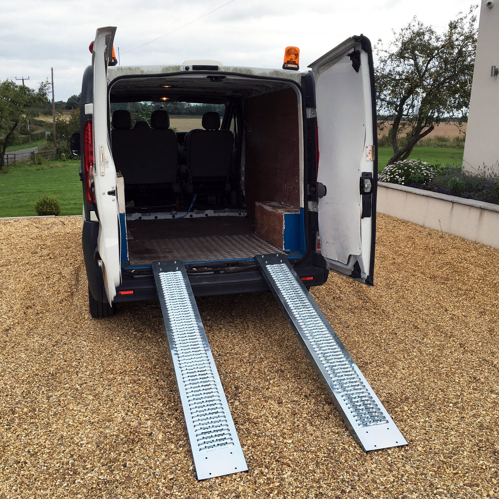 1.85m Steel Loading Ramp Heavy Duty 200KG