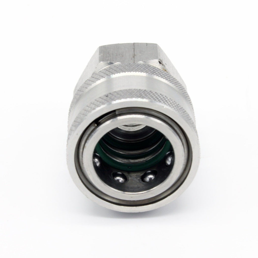 "TEMA Quick Release Female to 3/8"" Female Screw Coupling"