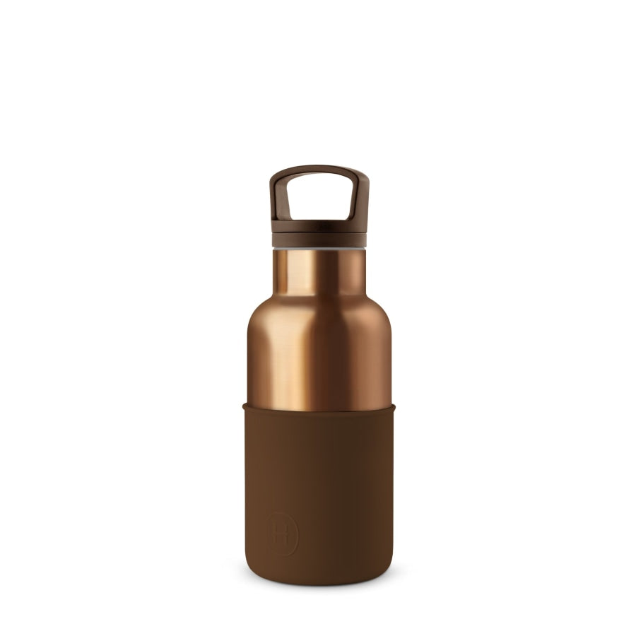 Bronze Gold-Mocha Water Bottle 12 Oz Drinkware