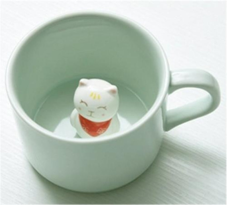 Furry Friend Tea Mug Cat Drinkware