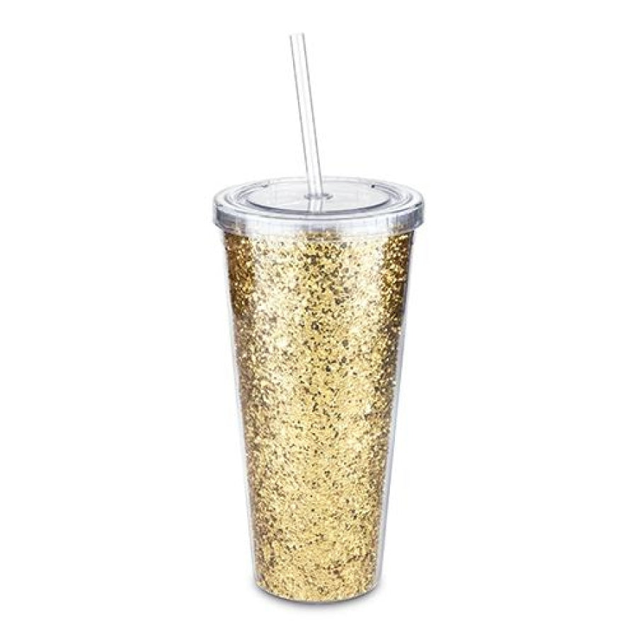 Glam Double Walled Glitter Tumbler By Blush® Drinkware