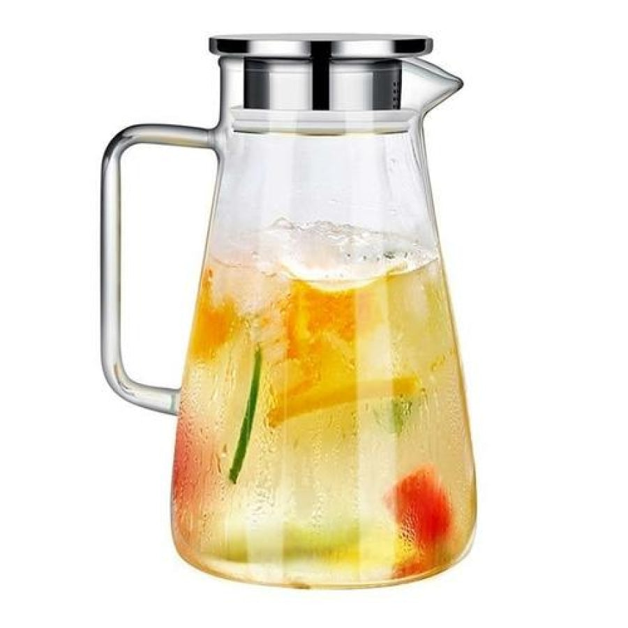 Glass Kettle Water Tea Carefe Durable Cold Bottle Nonslip 1500Ml Kt053 / China Home & Garden