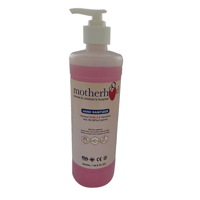 Motherhood Chlorhexidine 2.5% Hand Rub