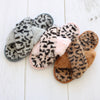 Womens Leopard Slippers