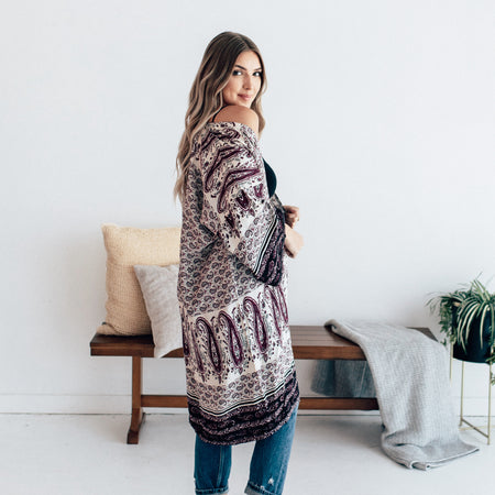 Reese Southwest Boho Cardigan | Western Fashion