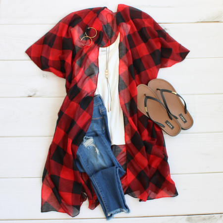 Buffalo Plaid Button Down
