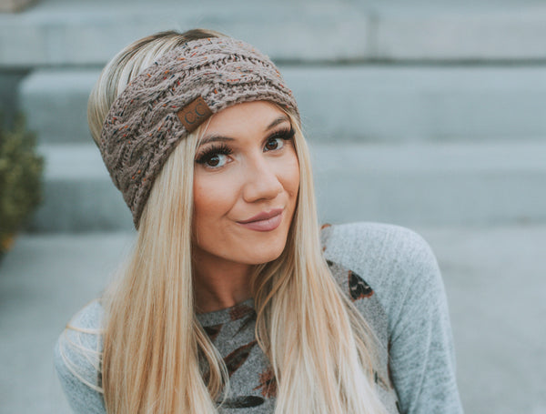 CC Brand Reversible Head Wraps | Confetti Headband