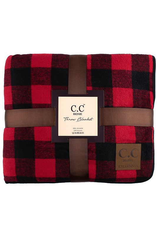 CC® Brand Buffalo Plaid Throw Blanket