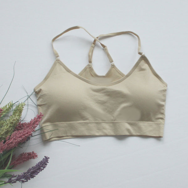Padded Bralette Criss Cross Back