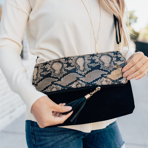 Cross Body Purse or Clutch