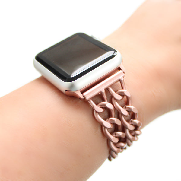 Double Chain Apple Watch Band