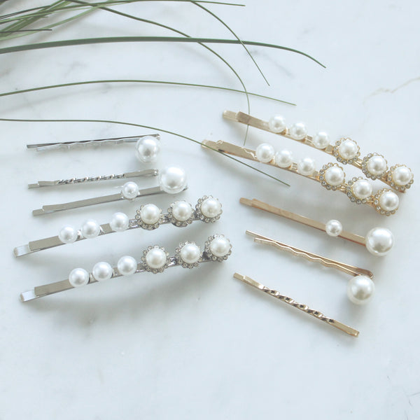 Pearl Bobby Pin Set | Hair Bobby Pins