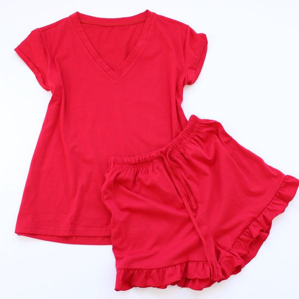 Payton Lounge & Pajama Shorts Set