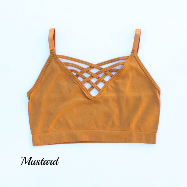 Strappy Criss Cross Bralette