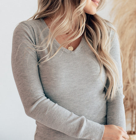 Madison V Neck Sweater