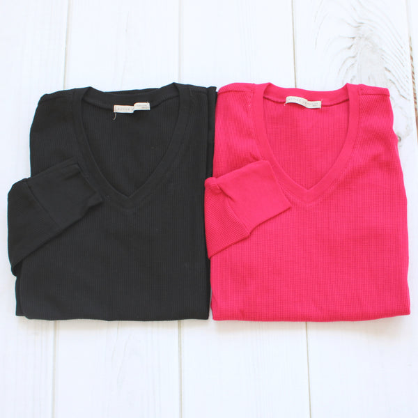 Thermal V Neck Top