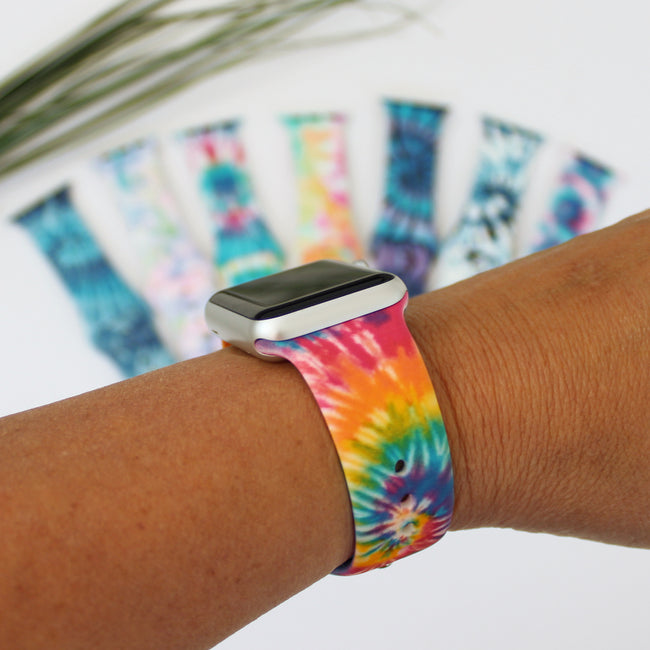 Tie Dye Apple Watch Bands